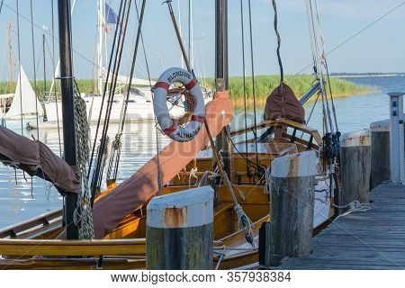 Ahrenshoop On The Dars - July 29, 2018: Ahrenshoop On The Dars - July 29, 2018:  Zeesenboot Named Bl