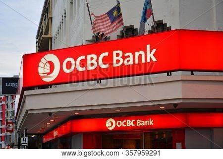 Kota Kinabalu, My - June 21: Ocbc (oversea-chinese Banking Corporation) Bank Facade On June 21, 2016