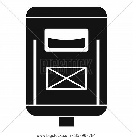 Newsletter Mailbox Icon. Simple Illustration Of Newsletter Mailbox Vector Icon For Web Design Isolat