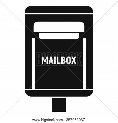 Correspondence Mailbox Icon. Simple Illustration Of Correspondence Mailbox Vector Icon For Web Desig