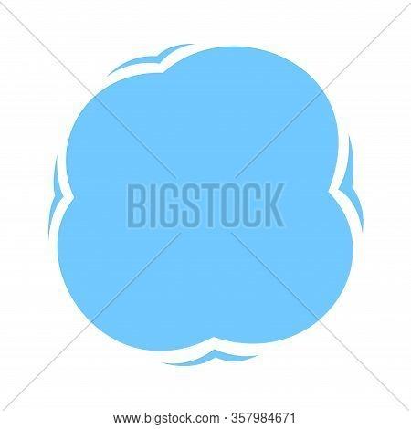 Blob Shape Light Blue Soft For Banner Copy Space, Aqua Background, Water Blob Splash Light Blue Colo
