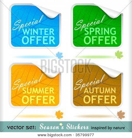 Premium Special Offer Peeling Stickers