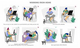Plan Your Day. Freelance. Work From Home. Home Office. Telework. Remote Working. Woman Self Employed