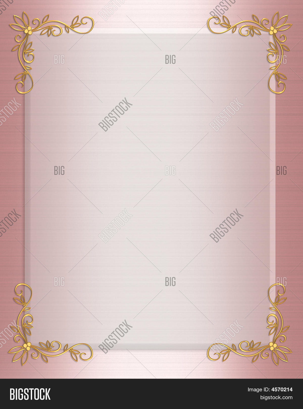 Pink satin formal invitation border image photo bigstock pink satin formal invitation border stopboris Choice Image