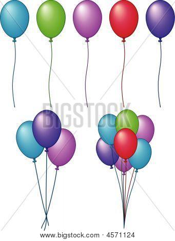 Balloons - Vector Illustration