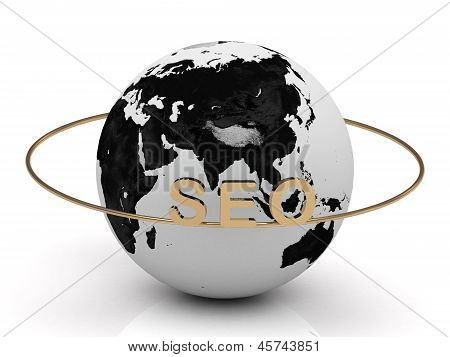 Seo Gold Letters On A Gold Ring