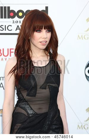 LOS ANGELES -  MAY 19:  Carly Rae Jepsen arrives at the Billboard Music Awards 2013 at the MGM Grand Garden Arena on May 19, 2013 in Las Vegas, NV