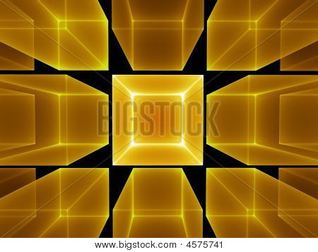 Golden Cubic Perspective