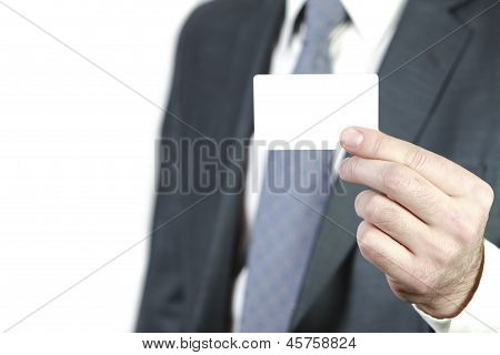 Here is my business card