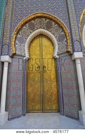 Moroccan Palace Door