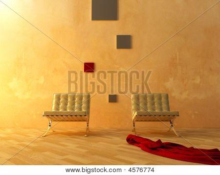 Interior - Modern Style Waiting Room