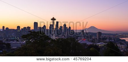 Skyline of Seattle