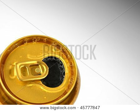 Open Tin Of Beer