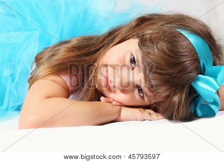 Very Nice Smiling Girl Portrait