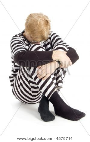 Elderly Criminal In Suit
