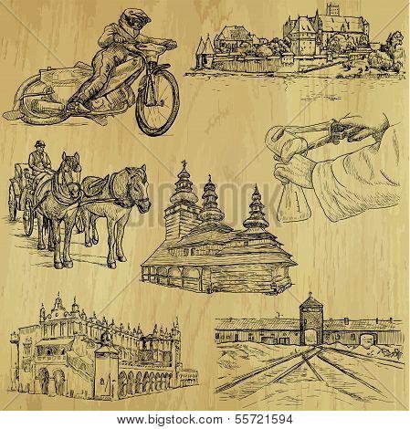 Poland Illustrations