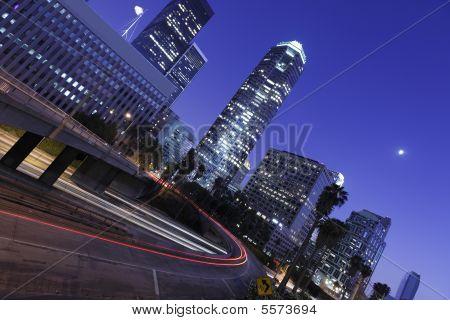 Los Angeles Under The Moonlight