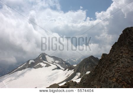 Stubai Glacier In Tyrol