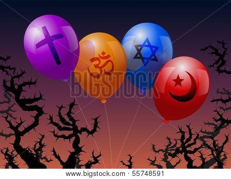 Ballons Religion