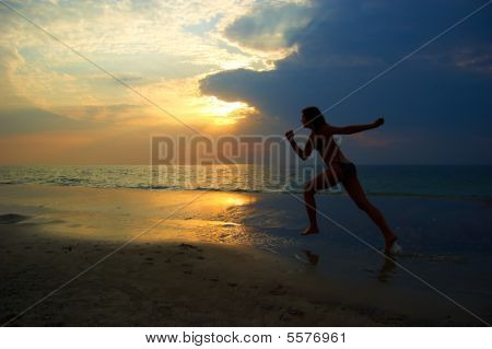 A Woman On The Sea