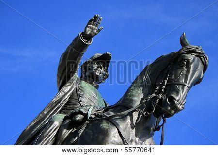 General Dufour statue, Geneva, Switzerland