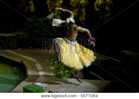 Fijian Fan Dancer