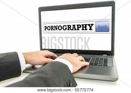 Surfing The Internet For Pornography