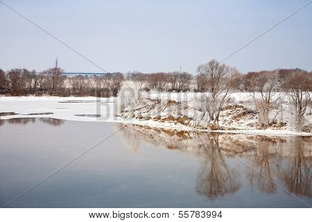 Moscow Riverbank Kolomna