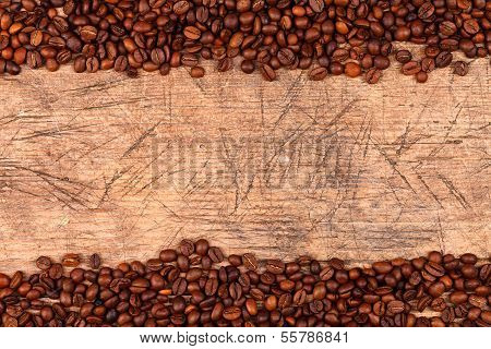 Coffe Beans As Border
