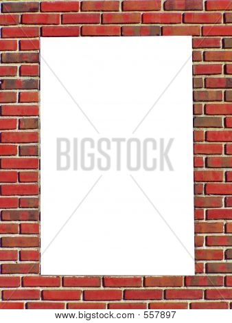 Red Brick Border