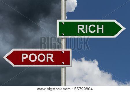 Rich Versus Poor