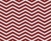Dark Red and White Zigzag Textured Fabric Background that is seamless and repeats poster