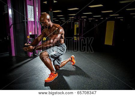 Cable Machine Weight Training