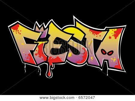 Graffiti Fiesta Fertig