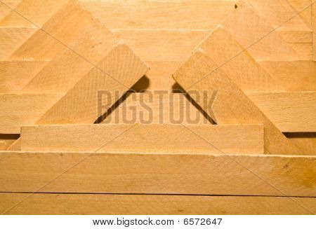 Pattern From Wooden Boards