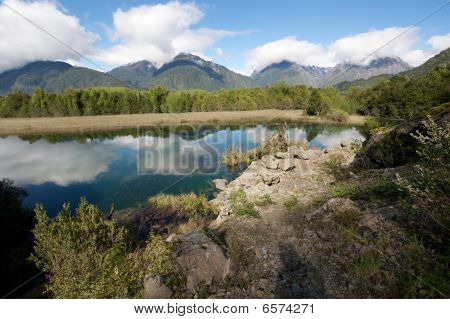 Lagoon in Patagonia