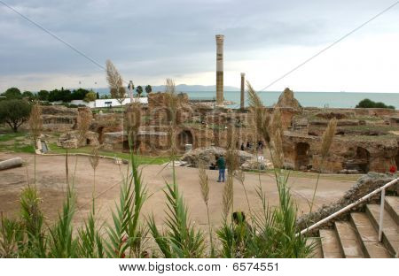 Antonius Baths - Carthage