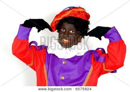 Little Piet , Old Traditional Dutch Celebration