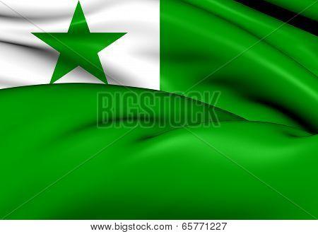 Flag Of Esperanto