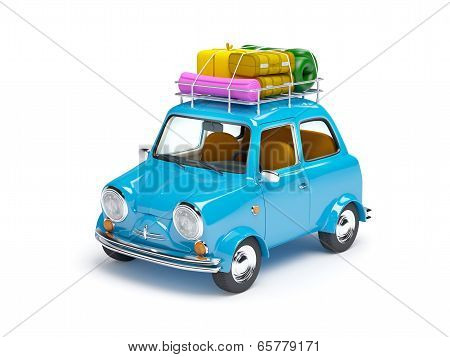 small retro trip car