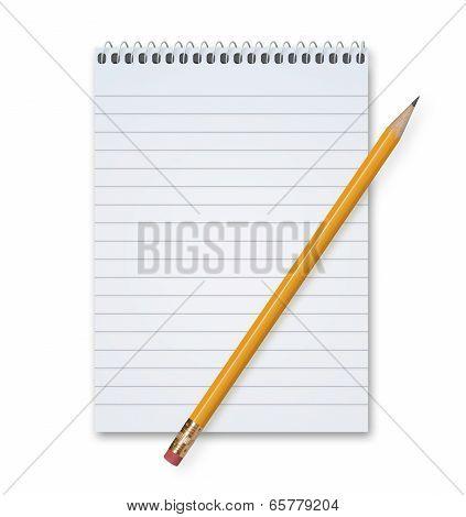 Pencil And Pad