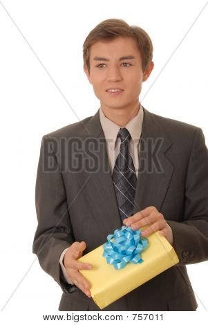 Young Man Bearing Gifts 2