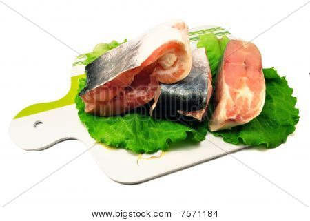 Raw Fish Pangasius