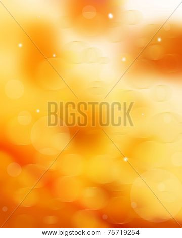 Festive blur background. Abstract twinkled bright background poster