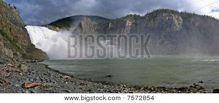 Virginia Falls Panorama