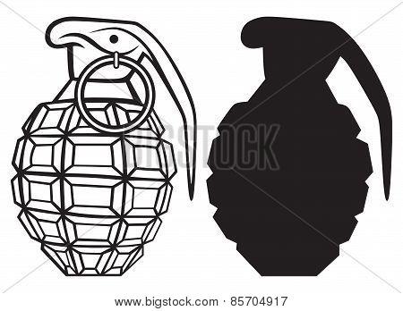 Image of an manual grenade