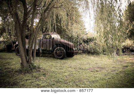 Old Broken-Down Truck