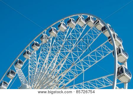 The Wheel On Brighton Seafront
