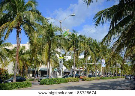 Washington Avenue, Miami Beach, USA