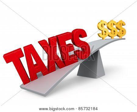 Taxes Outweigh Savings